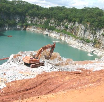 Quarry blasting