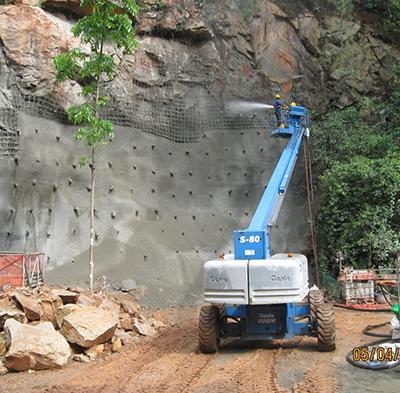 Rock Bolting / Soil Nailing