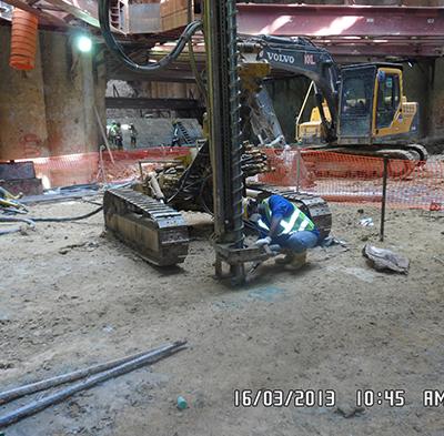 TBM Thrust Beam Construction