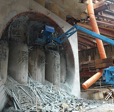 Tunnel Eye Construction