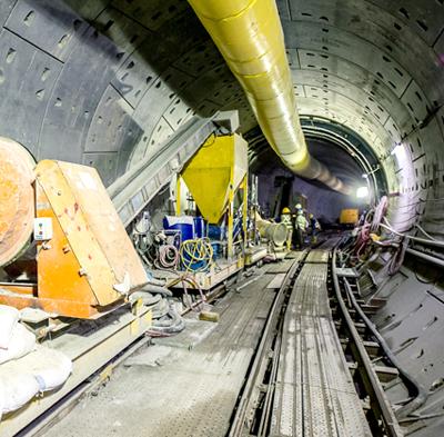 Cross Passage construction
